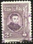 Sellos del Mundo : America : Guatemala : Virrey y Arzobispo Fray Payo Enriquez De Rivera.
