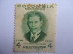 Sellos del Mundo : America : Colombia : Julio Garavito Armero (1865-1920) Astronomo, Matemático, Economista e Ingeniero colombiano.
