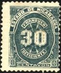 Sellos del Mundo : America : Nicaragua : Timbre impuesto. 1899.