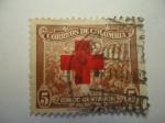 Sellos de America - Colombia -  Cruz roja Colombiana - café Suave.