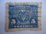 Sellos de America - Colombia -  Escudo - Correos República de Colombia