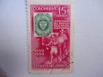 Sellos del Mundo : America : Colombia : Centenario del primer sello Postal Colombiano.1859-1959(Estafeta del Correo)