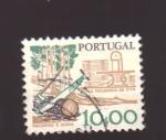 Sellos de Europa - Portugal -  Sierras