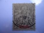 Sellos del Mundo : Oceania : Tonga : Reino de Dahomey (Rep. de Benin)-África Occidental Francesa.
