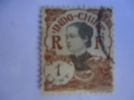Sellos de Europa - Francia -  Indo-CHine. Mujeres Indochinas . Indochina Francesa