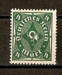 Sellos de Europa - Alemania -  Rep.Weimar / Corneta Postal.