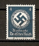 Sellos de Europa - Alemania -  Servicio