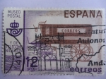 Sellos de Europa - España -  Museo Postal  y de Telecomunicación. Eurgón de Correo del Siglo XIX.-Ed: 2638