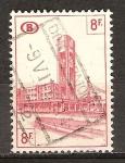 Sellos de Europa - Bélgica -  Estación del Norte de Bruselas.