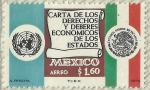 Sellos del Mundo : America : México : CARTA DE LOS DERECHOS Y DEBERES ECONOMICOS DE LOS ESTADOS