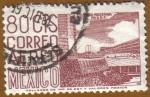 Sellos del Mundo : America : México : MEXICO DF - Arquitectura Moderna