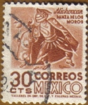 Sellos de America - México -  MICHOUCAN - Danza de los Moros