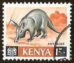 Sellos del Mundo : Africa : Kenya : OSO HORMIGUERO - ANT BEAR