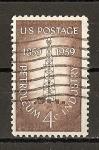 Sellos de America - Estados Unidos -  Centenario de la Industria del Petroleo.