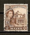 Sellos de Europa - Malta -  Elizabeth II.