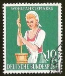 Sellos del Mundo : Europa : Alemania : WOHLFAHRTSMARKE - DEUTSCHE BUNDESPOST