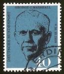 Sellos de Europa - Alemania -  GEORGE C. MARSHALL - DEUTSCHE BUNDESPOST