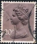 Sellos de Europa - Reino Unido -  ISABEL II TIPO MACHIN 1976. Y&T Nº 785