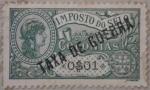 Sellos del Mundo : Europa : Portugal : colonias imposto do selo taxa de guerra 1921