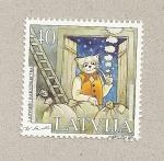 Sellos de Europa - Letonia -  Kakisa por Skalbe