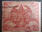 Sellos del Mundo : Oceania : Australia :  Peace (Paz) 1945 - Final de la Segunda Guerra Mundial.