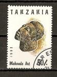 Sellos del Mundo : Africa : Tanzania : Arte Africano.