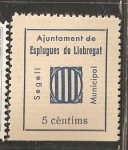 Sellos de Europa - España -  ESPLUGUES DE LLOBREGAT