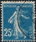 Sellos de Europa - Francia -  SEMBRADORA. FONDO LLENO 1907-20 Y&T Nº 140