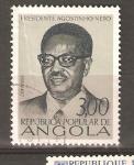 Sellos del Mundo : Africa : Angola : AGOSTINHO NETO
