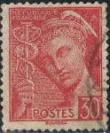 Sellos de Europa - Francia -  MERCURIO 1938-41 Y&T Nº 412