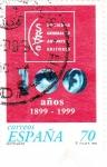 Sellos de Europa - España -  Centenario Sociedad General de Auditores y Editores    (k)