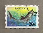 Sellos del Mundo : Africa : Tanzania : Pez Isurus oxyrinchus
