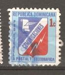 Sellos del Mundo : America : Rep_Dominicana : PRO ESCUELAS POSTAL Y TELEGRAFICAS