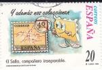 Sellos de Europa - España -  El Sello compañero inseparable-Y ADEMÁS NOS COLECCIONAN (L)  k