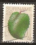 Sellos del Mundo : America : Surinam : Guanábana.