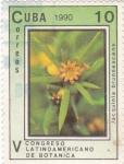 Sellos de America - Cuba -  Congreso Latinoamericano de Botánica