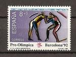 Sellos de Europa - España -  V serie Pre-olimpica.