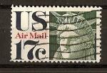 Sellos del Mundo : America : Estados_Unidos :  Estatua de la Libertad./ Serie Basica.