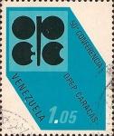 Sellos de America - Venezuela -  50 Conferencia OPEP en Caracas.