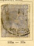 Sellos de Europa - España -  Alfonso XII Ed 1875 Comunicaciones