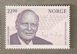 Sellos del Mundo : Europa : Noruega : Premio Nobel Quimica 1968