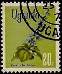Sellos del Mundo : Africa : Uganda : Flores