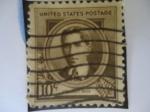 Sellos de America - Estados Unidos -  ETHELBERT  Woodbridge NAVI. (1862-1901)