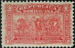 Sellos del Mundo : America : Rep_Dominicana : Alzamiento de Enriquillo