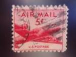 Sellos de America - Estados Unidos -  DC-4 Skymmanster