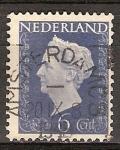 Sellos del Mundo : Europa : Holanda : La reina Wilhelmina (Guillermina).