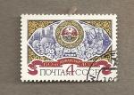 Sellos de Europa - Rusia -  60 Aniv creación República