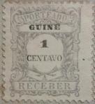 Sellos del Mundo : Europa : Portugal : guine porteado receber 1914
