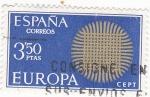 Sellos de Europa - España -  Europa-CEPT 1970            (o)