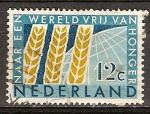 Sellos de Europa - Holanda -  A un mundo libre del hambre.